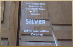 2012 Congress of Fed. of Asian Master Tailers - SILVER